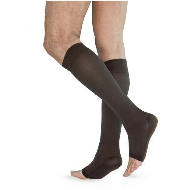 SOLIDEA Relax Unisex 70 den Punta Aperta kompresinės kojinės iki kelių 2
