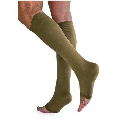 SOLIDEA Relax Unisex Ccl.3 kompresinės kojinės iki kelių atvirais pirštais 2