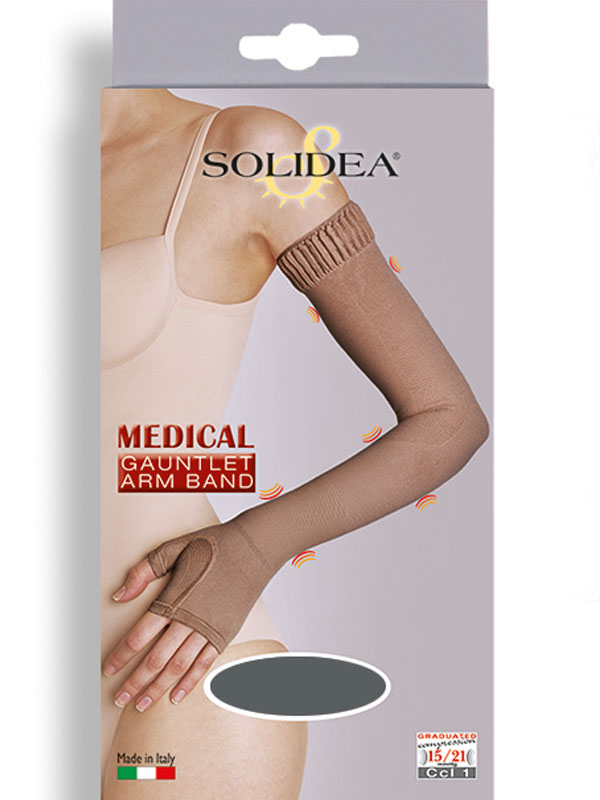a75a016f6a SOLIDEA Medical Ccl.1 compression sleeve with glove | SILUETA.lt