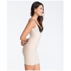 SPANX Thinstincts™ Open-Bust Mid-Thigh slimming bodysuite