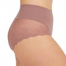 SPANX Undie-tectable Lace Hi-Hipster утягивающие трусы