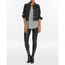 SPANX Wow faux leather shaping leggings