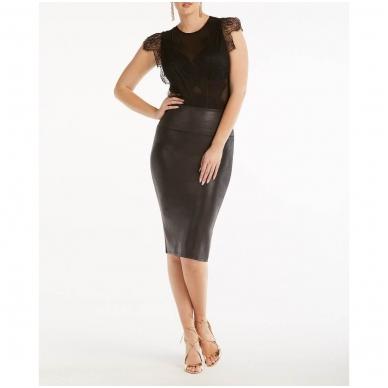"""SPANX Wow odos imitacijos formuojantis """"pieštuko"""" formos sijonas 4"""