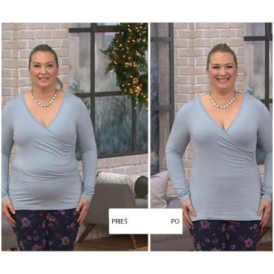 SPANX OnCore stipriai formuojantis triko atvira krūtine 7