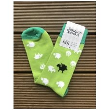 Mens socks Sheep in the meadow