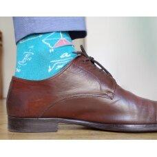 """Vyriškos kojinės """"Linksmasis Matematikas"""""""