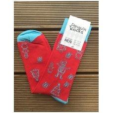 Mens socks Christmas