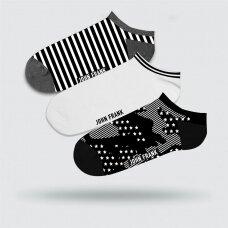 Vyriškų trumpų kojinių komplektas 3 vnt S44