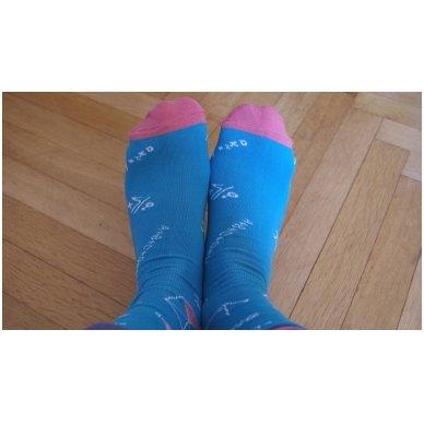 """Vyriškos kojinės """"Linksmasis Matematikas"""" 3"""