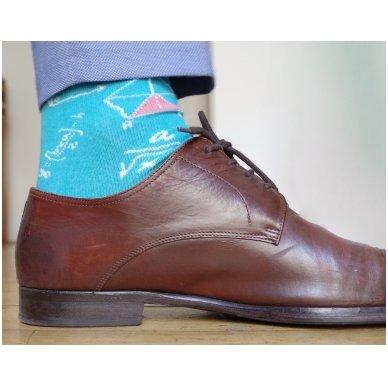 """Vyriškos kojinės """"Linksmasis Matematikas"""" 4"""