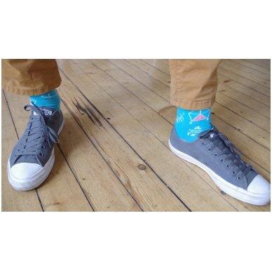 """Vyriškos kojinės """"Linksmasis Matematikas"""" 5"""